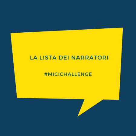 I partecipanti #micichallenge
